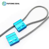 Aluminium alloy Adjustable cable seal for truck ,railway,oil,logistics