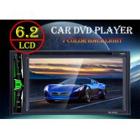 China TFT Led Screen Car Double Din Dvd Player With Bluetooth And Fm Radio on sale