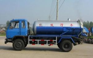 China high quality 5-10CBM vacuum fecal suction tank truck for sales on sale