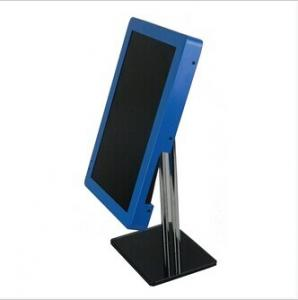 China Blue 8 Inch USB 2.0 Metal Rack POP LCD Display Monitor With Loop Photo Play on sale