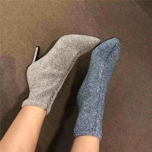 China Martin woman boots cowboy lady party boots Europe and the United States style 2018 winter new item middle heels elastic on sale