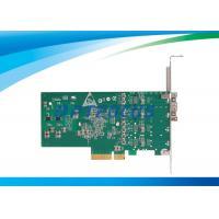 Dual Port Gigabit Ethernet Fiber Optic Network Card 2 LED Indicator Lamp