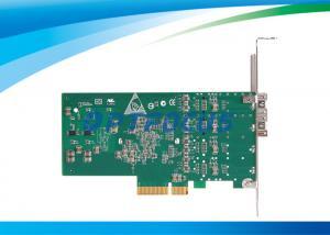 China Carte optique d'adaptateur réseau de fibre/voyant à double accès de la carte 2 LED d'Ethernet de gigabit on sale