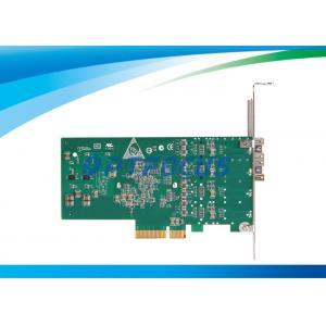 China Voyant optique à double accès de la carte réseau 2 LED de fibre de Gigabit Ethernet on sale