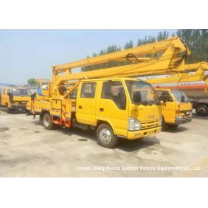 China ISUZU 16m Truck Mounted Articulated Aerial Work Platforms High Performance on sale