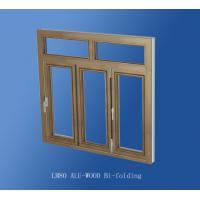 LM80 ALU-WOOD Bi-folding door.Aluminium consuming 12.25kg/㎡ based on 2100W*2700H