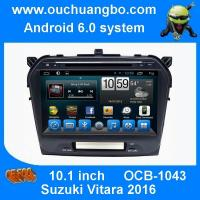 Ouchuangbo car radio 10.1 inch android 6.0 for Suzuki Grand Vitara 2016 with  steering wheel control bluetooth USB