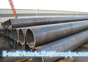 China LSAW/Longitudinal Submerged-Arc Welded Steel Pipe Q235A,Q235B,Q345,ASTM A53/106, API 5L,L245 L290 X42 X46 X70 X80 on sale