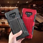 Card Leather lothes  shell for Samsung series phone