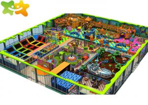 China Professional Soft Indoor Commercial Playground Equipment / Jump Trampoline Park supplier