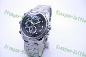 Quality Silver HD Spy Watch camera/DVR with Motion Detector for sale