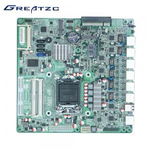China Mini INTEL LGA 1155 Socket Motherboard Embeded 4*SATA 82583V Gigabit LAN Card on sale