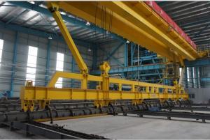 China PQD Overhead Crane Single Girder Overhead Cranes for PC Pile Factory on sale