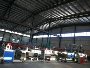China 1220mm Mat Width Door Mat Making Machine , Floor Mat Machine High Efficiency on sale