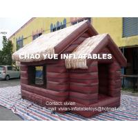 China Portable Inflatable Booth Tent Fire Resistant Material For Advertising , No Electricity Required on sale