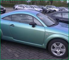 China Ziyang new car color changing film- chrome wrap film on sale