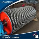 15 mm thick High wear-resistant conveyor ceramic roller lagging manufacturer