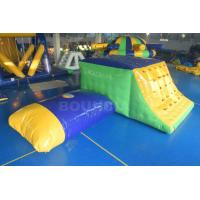 China 0.9mm Durable PVC Tarpaulin Inflatable Jumping Platform With Blob on sale