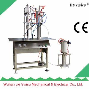 China Car dashboard & leather wax spray filling machine on sale