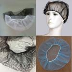 Comfortable Nylon Disposable Surgical Hats Breathable Environmentally Friendly