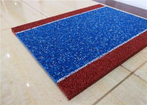 China Eco Friendly Coloured Rubber Crumb Basketball Floor Wear Resistant ISO Certificated on sale