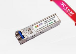 China 1.25Gbps 40km 1310nm SFP Bidirectional Fiber Optic Transceiver  Compatible With ROHS on sale