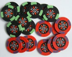China 2012 Newly Custom Poker Chips on sale