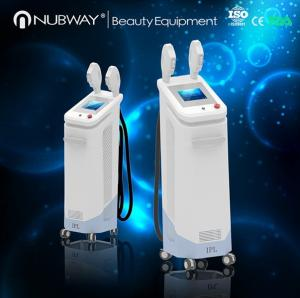 China big spot size SHR / IPL / E-light 3 systems in 1 for hair removal and skin rejuvenation hgih frequency 10 Hz on sale