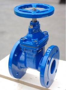 China Soft Sealing / Rubber Seat And Wedge Resilient Seated Gate Valve Full Bore on sale