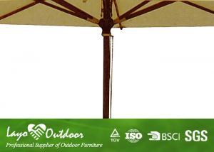 Stand Alone Cantilever Tilt Patio Umbrella Large Backyard Sun