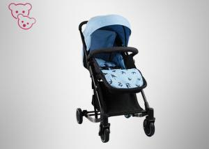 China Big Basket Canopy High Landscape Baby Stroller One Hand Folding 300D Oxford Fabric on sale