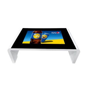China Smart Coffee Multi Touch Screen Table Advertising Digital Signage LCD Display on sale