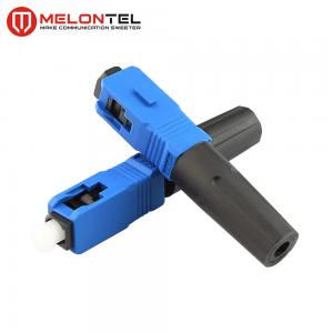 China Blue FTTH  Fiber Optic Connectors Short Type MT1041-SC Fast Connect on sale