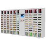 Máquina de venda automática da fonte de escola do compartimento/livro, máquinas de venda automáticas exteriores da fonte da segurança