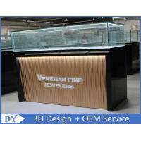 Custom Modern Design Glass Jewellery Shop Display Counters With led lights