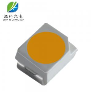China Gold Yellow Color Led Light Components Parts 2000 - 2200 K Sanan Chip Smd Led 3528 on sale