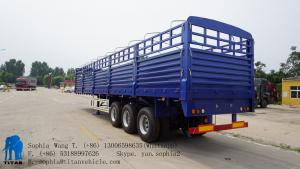 China Fence Semi Trailer with 600mm side wall | Titan Vehicle on sale