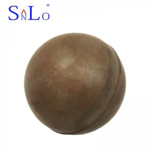 China Round Type Threaded Copper Float Ball Level Gauge Accessories 50*86mm on sale