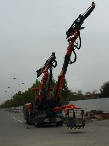 China Three Arms  Drilling Rig Machine Compact Structure Low Gravity Center Smoothly Working on sale