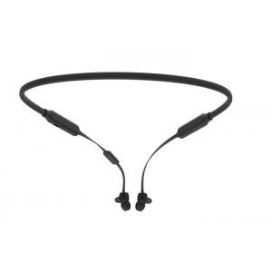 China Sports Wireless Neckband Headphones Noise Cancelling With 100mah Lithium Battery on sale
