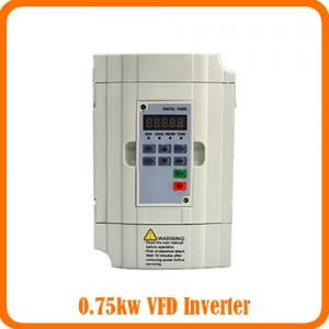 China 220V 0.75kw/1HP Variable Frequency Drive/VFD/Frequency Inverter/Frequency Controller/AC Motor Drive/Speed Controller on sale