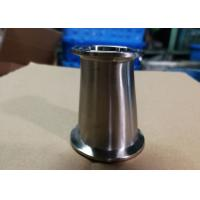 Hygienic Fittings Clamp Reducers For Food / Beer / Beverage / Dairy Usages Polished Surface