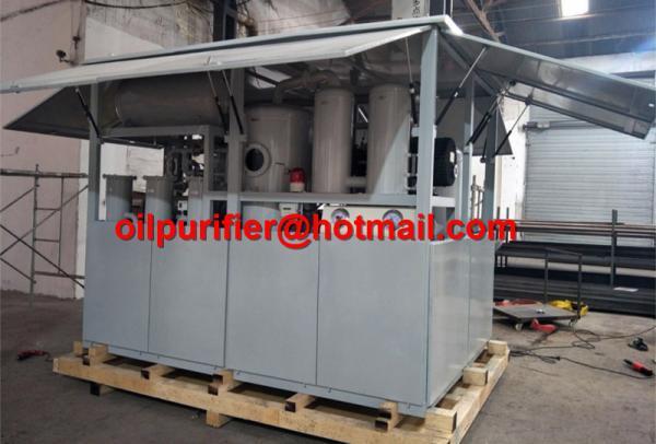 Shelter Cabinet Transformer Oil Filtration Plant, high