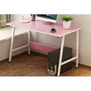 China Pink Color Economical Bedroom Desktop Pc Desk Table Oem Service Welcome on sale