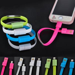 China New Bracelet Wristband USB Data Charger Cable For Apple iPhone on sale