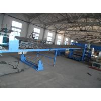 China PC Plastic Sheet Extrusion Line , PP Sheet Machine Hollow Grid Board Production on sale