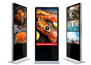 China Indoor Advertising player Free Standing LCD Display 55 Inch Built-In Media Player on sale
