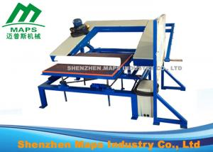 China Linear Shape Foam Cutting Machine / Mattress Sewing Machine High Strength on sale