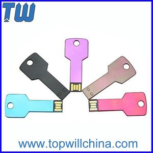 China Slim Durable Aluminum Key Usb Flash Drive 2GB 4GB 8GB 16GB 32GB on sale