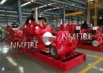 500GPM@175PSI  Ul Listed Diesel Engine  DRIVER Split casing Pump set with Jockey Pump(50HZ-380V)